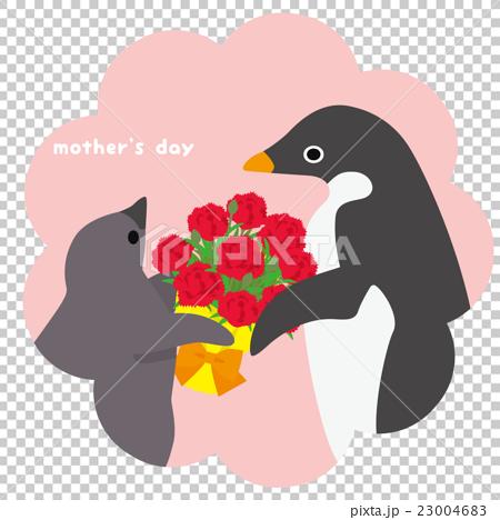 アデリーペンギン 母の日 23004683