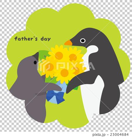 アデリーペンギン 父の日 23004684
