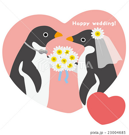 アデリーペンギン ウエディング 23004685