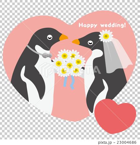 アデリーペンギン ウエディング 23004686