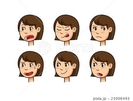 女性の表情 23006493