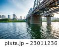 多摩川 橋 川の写真 23011236