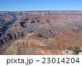 夕方のグランドキャニオンの絶景 アメリカ アリゾナ 23014204