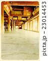 豊国神社千畳閣(絵画風)01 23014453