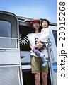 キャンピングカー 親子 23015268