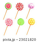 Sweets Lollipops Candies Realistic Icons Set 23021820
