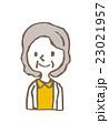 おばさん【線画・シリーズ】 23021957