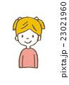 女の子 子供 ベクターのイラスト 23021960