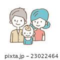 家族 ベクター クリップアートのイラスト 23022464