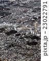 東京都小金井市の中央線武蔵小金井駅付近を空撮 23022791
