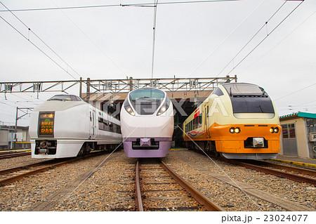 歴代特急ひたち車両 651系 653系 E657系 23024077