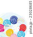 水風船 ヨーヨー 夏祭りのイラスト 23028685