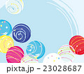 水風船 ヨーヨー 夏祭りのイラスト 23028687