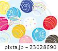 水風船 ヨーヨー 夏祭りのイラスト 23028690