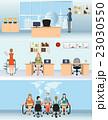 ビジネス 職業 オフィスのイラスト 23030550
