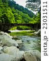 渓谷 面河渓谷 川の写真 23031511