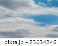 流れる 空 青空の写真 23034246