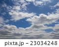 流れる 空 青空の写真 23034248