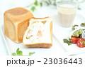 キューブパンとサラダ 23036443