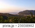 新島 眺め 夕方の写真 23038902