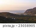 新島 眺め 夕方の写真 23038905