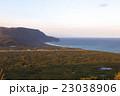新島 夕方 風景の写真 23038906