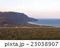 新島 夕方 風景の写真 23038907