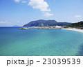 新島 黒根海岸 海の写真 23039539