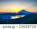 富士山 大観山 芦ノ湖の写真 23039729
