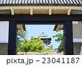 桜門からの大阪城 23041187