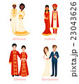 Multicultural Wedding Couples 23043626