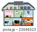 省エネスマートホームのインフォグラフィック 23046323