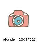カメラ 白バック ベクターのイラスト 23057223