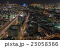 夜景 町並み 都会の写真 23058366