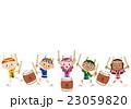 太鼓 子供 夏祭りのイラスト 23059820