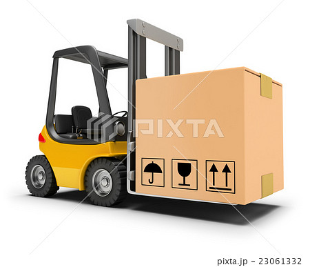 forklift with box 23061332