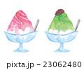 いちごと抹茶のかき氷 23062480