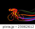 Professional cyclist involved in a bike race. 23062612