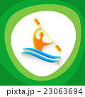 Canoe Slalom Athlete Sport Competition Icon 23063694