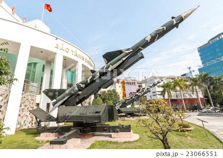 ベトナム戦争時に北ベトナム軍が使用したS-75ミサイル(SA-2ガイドライン)地対空ミサイル 23066551