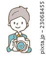 カメラマン【線画・シリーズ】 23068455