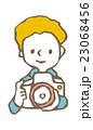 カメラマン【線画・シリーズ】 23068456