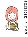 カメラ女子【線画・シリーズ】 23068532