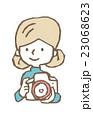 フォトグラファー【線画・シリーズ】 23068623