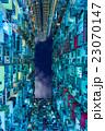 香港 過密な高層住宅 仰瞰 23070147