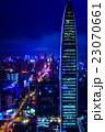 中国・深センの夜景 23070661