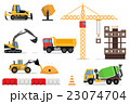 Construction machines builders and house building 23074704
