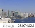 町並み ビル 港の写真 23074828