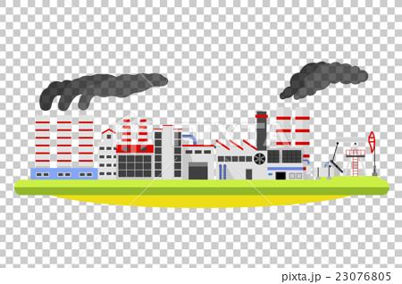 Industrial factory landscape. 23076805
