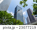 高層ビル ビル ビジネス街の写真 23077219